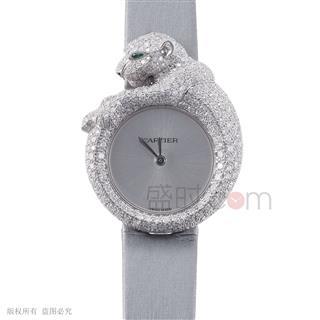 卡地亚 Cartier 创意宝石腕表 HPI00341 石英 女款