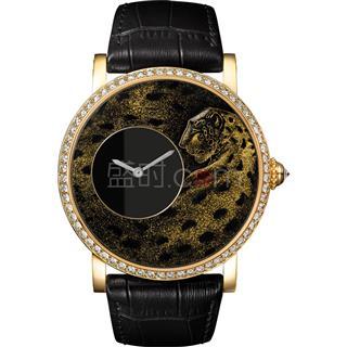卡地亚 Cartier 创意宝石腕表 HPI00700 手动机械 女款