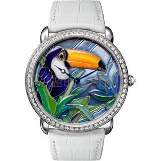 卡地亚 Cartier 创意宝石腕表 HPI00701 机械 女款