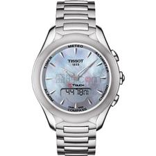 天梭 Tissot 高科技触屏系列 T075.220.11.101.00 石英 女款