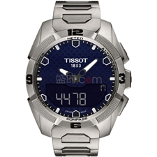 天梭 Tissot 高科技触屏系列 T091.420.44.041.00 石英 男款