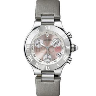 卡地亚 Cartier 21CHRONOSCAPH 21世纪系列 W1020012 石英 男款