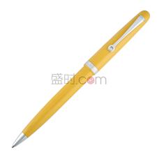 OMAS奥玛仕 镀钯黄色笔杆圆珠笔 商务送礼 C06C000300-00