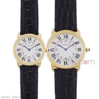 卡地亚 Cartier RONDE DE CARTIER腕表 W6700455_W6700355 石英 情侣对表