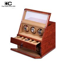 OC开合摇表器 手表收纳盒 机械表上链盒 转表器 6表位WW-06123