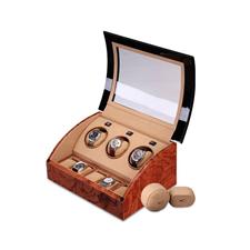 OC开合摇表器 手表收纳盒 机械表上链盒 转表器 3表位WW-03323
