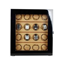 OC开合摇表器 手表收纳盒 机械表上链盒 转表器 16表位WW-16123