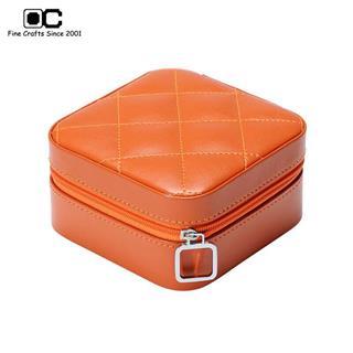 OC開合新品首飾盒 橘色TJ-042