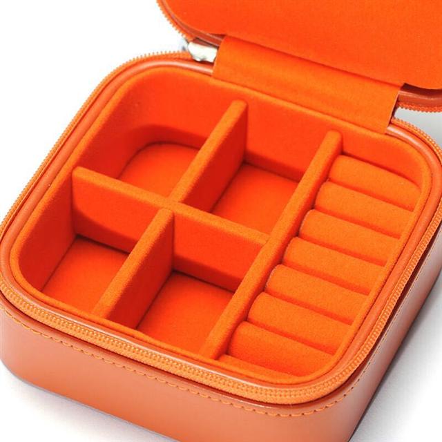 OC开合新品首饰盒 橘色TJ-042