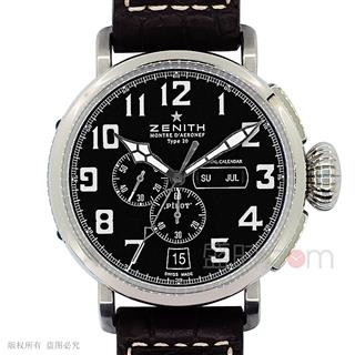 真力时 Zenith PILOT 飞行员系列 03.2430.4054/21.C721 机械 男款
