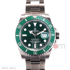 劳力士 ROLEX OYSTER PROFESSIONAL 蚝式专业系列 116610-LV-97200绿 机械 男款