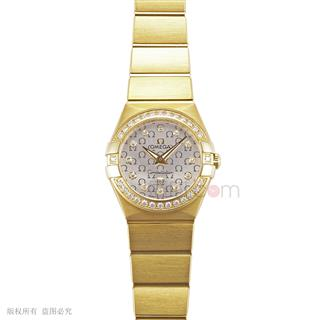 欧米茄 Omega CONSTELLATION 星座系列 123.55.24.60.52.002 石英 女款