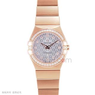 欧米茄 Omega CONSTELLATION 星座系列 123.55.27.60.52.001 石英 女款