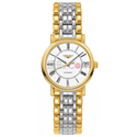 L43222117 白色表盘 金色表带