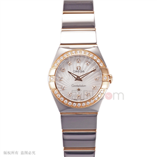 欧米茄 Omega CONSTELLATION 星座系列 123.25.27.60.55.006 石英 女款