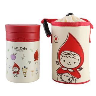 乐扣乐扣HELLO BEBE焖烧罐不锈钢保温杯儿童粥饭桶500ml (颜色随机)