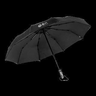 CENSH盛时定制自动折叠伞 晴雨两用伞带拎袋