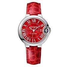 卡地亚 Cartier BALLON BLEU DE CARTIER腕表 中国红限定款