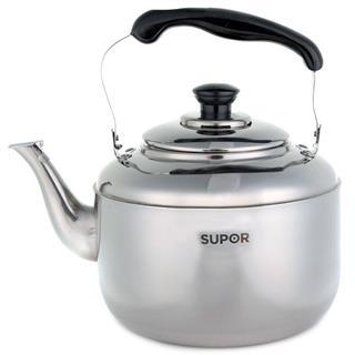 苏泊尔电磁炉通用鸣音304不锈钢壶水壶烧水壶3.1L-4L