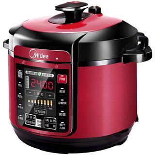美的(Midea)電壓力鍋 一鍋雙膽 七段調壓 收汁入味