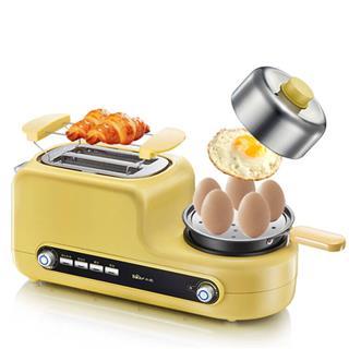 小熊(bear)烤面包機 多功能多士爐家用2片早餐機吐司機