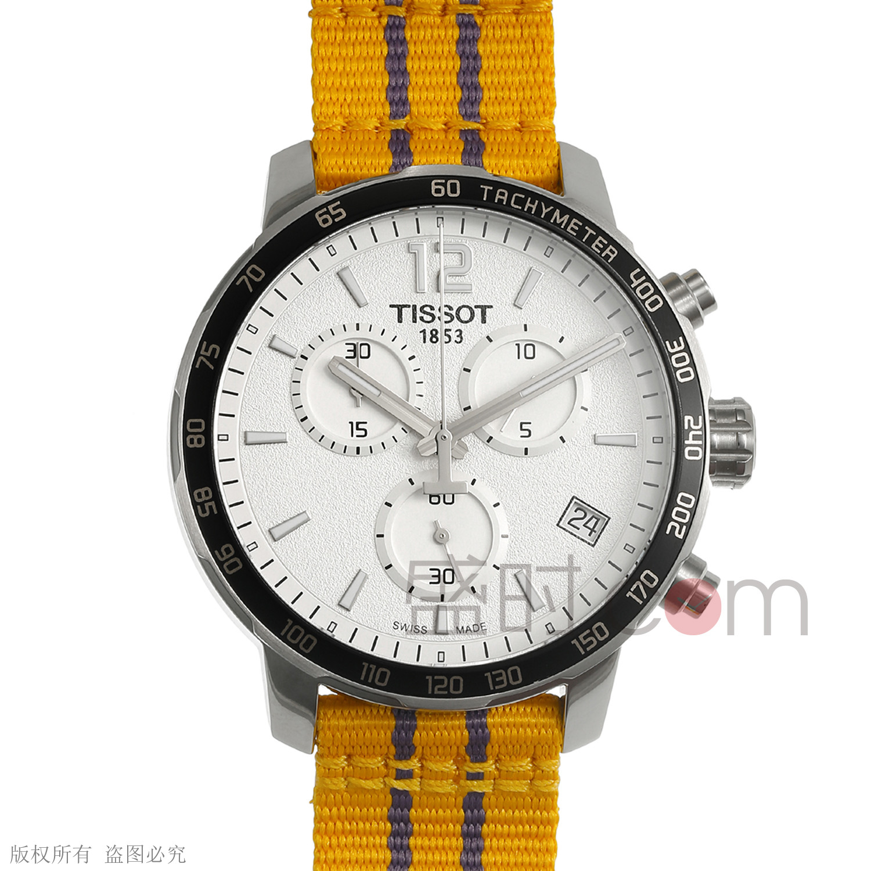 天梭 T095.417.17.037.05 石英 男款 计时码 小秒针