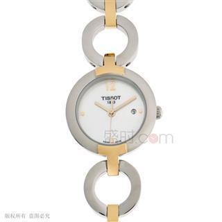 天梭 Tissot 时尚系列 T084.210.22.117.00 石英 女款