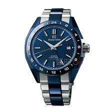 精工GS Grand Seiko 蓝色陶瓷Hi-beat高振频GMT Special(特优)限量版 机械 SBGJ229 男款
