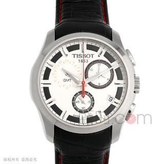 天梭 T035.439.16.031.01 石英 男款 世界时 小秒针