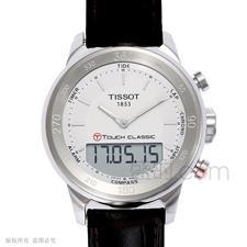 天梭 Tissot 高科技触屏系列 T083.420.16.011.00 石英 男款