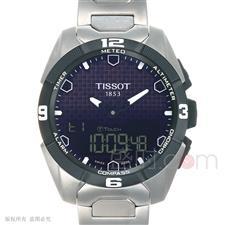 天梭 Tissot 高科技触屏系列 T091.420.44.051.00 石英 男款