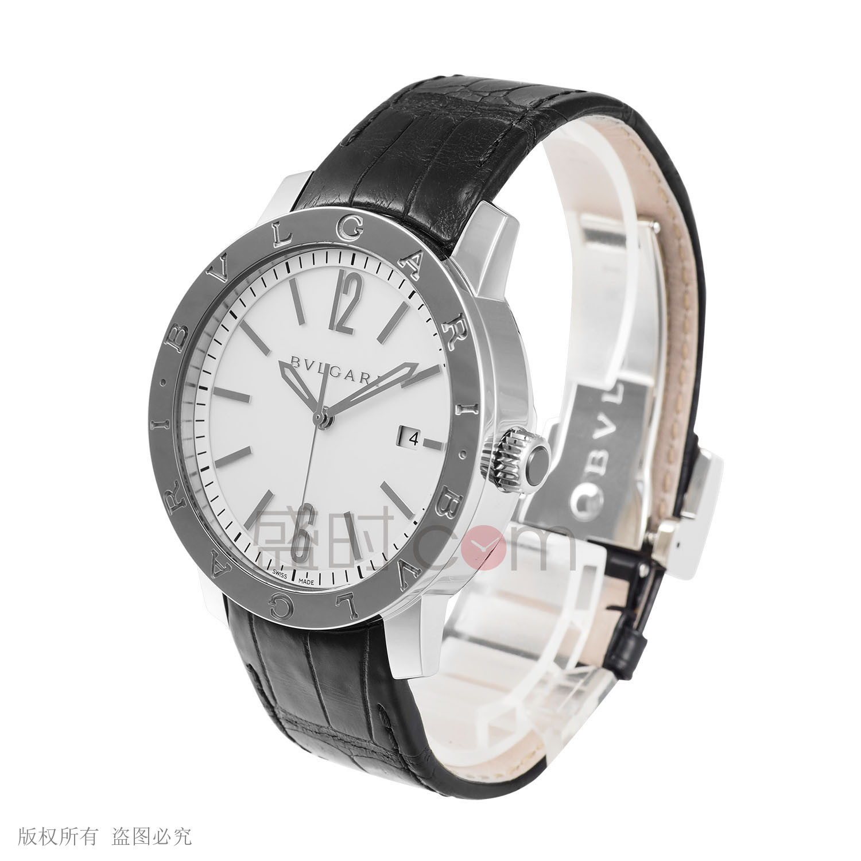 bvlgari手表价格_Bvlgari BULGARI-BULGARI宝格丽WATCHES手表,102056B机械男款手表价格及 ...
