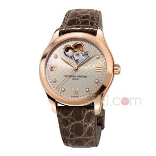 康斯登 Frederique Constant LADIES AUTOMATIC 女装自动 FC-310LGDHB3B4 机械 女款
