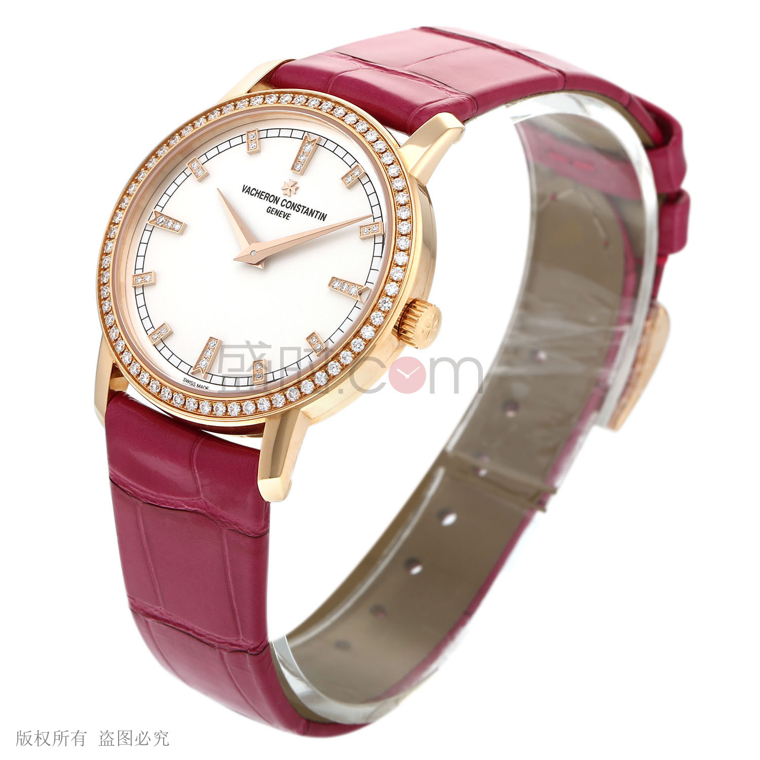 江詩丹頓 Vacheron Constantin TRADITIONNELLE系列 25558/000R-9406 石英 女款