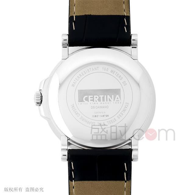 雪铁纳 Certina 卡门系列 C017.410.16.037.00 石英 男款