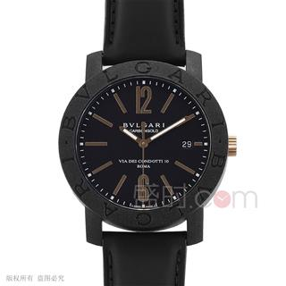 宝格丽 BVLGARI BB CARBON GOLD WATCHES 102248 机械 男款