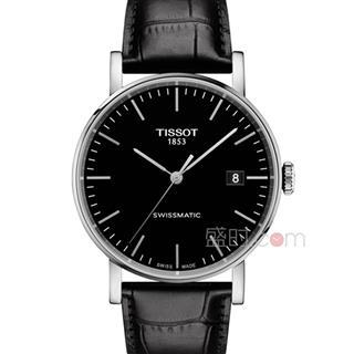 天梭 Tissot 经典系列-魅时系列  T109.407.16.051.00 机械 男款