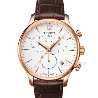 天梭 Tissot 经典系列-俊雅系列  T063.617.36.037.00 石英 男款