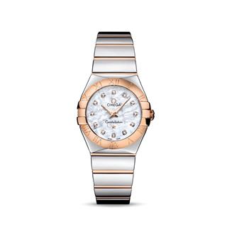 欧米茄 Omega CONSTELLATION 星座系列 123.20.27.60.55.003 石英 女款