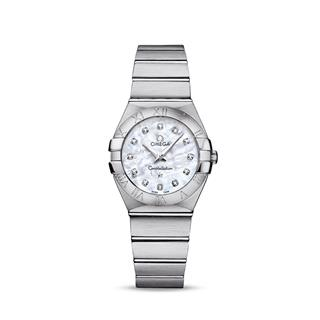 欧米茄 Omega CONSTELLATION 星座系列 123.10.27.60.55.001 石英 女款
