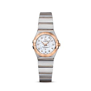 歐米茄 Omega CONSTELLATION 星座系列 123.20.24.60.55.001 石英 女款