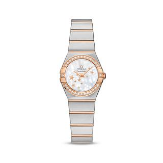 欧米茄 Omega CONSTELLATION 星座系列 123.25.24.60.05.002 石英 女款