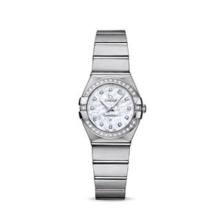 欧米茄 Omega CONSTELLATION 星座系列 123.15.24.60.55.001 石英 女款