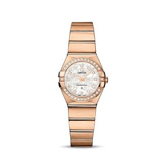 欧米茄 Omega CONSTELLATION 星座系列 123.55.24.60.55.015 石英 女款
