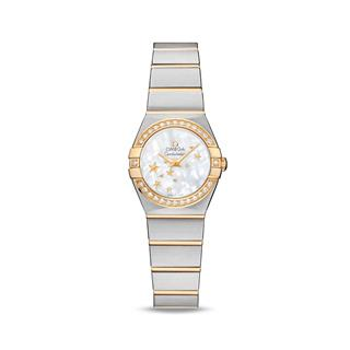 欧米茄 Omega CONSTELLATION 星座系列 123.25.24.60.05.001 石英 女款