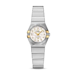 欧米茄 Omega CONSTELLATION 星座系列 123.20.24.60.55.006 石英 女款
