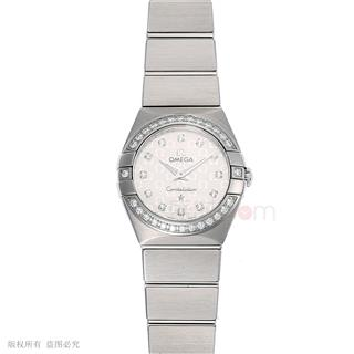 欧米茄 Omega CONSTELLATION 星座系列 123.15.24.60.52.001 石英 女款