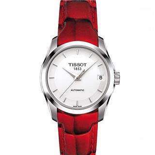 天梭 Tissot 时尚系列 T035.207.16.011.01 机械 女款