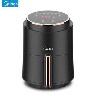 美的(Midea)空气炸锅 智能触屏 200度高温脱脂 1.5L容量 快速清洗