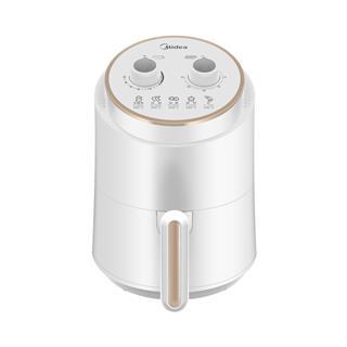 美的(Midea)空气炸锅 1.5L容量 双旋钮定时定温 随心DIY 200°高温脱脂